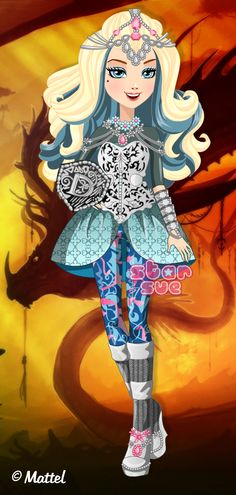 Ever After High Dragon Games Darling Charming Dress Up Game: http://www.starsue.net/game/Dragon-Games-Darling-Charming.html Have Fun! ♥