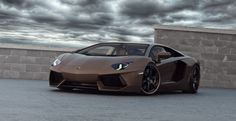 LAMBORGHINI AVENTADOR - For a car that only weighs 1.5 tonnes, Lamborghini Aventador is incredibly powerful. With a 6.5-liter V12, reaching 60 mph in 2.9 seconds, and top speed of 217 km/h, 'the fighting bull' will leave you breathless. And so will its price – $400,000 – $440,000