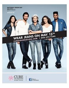 #HullandHullLLP donated and wore jeans on May 15th, 2012 to support the Cure Foundation