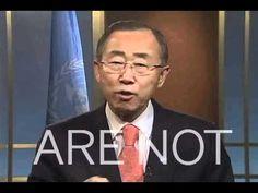 U.N. Secretary General Ban Ki-moon's speech about human rights.