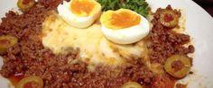 Foto - Receita de Purê de batata ao molho de carne moída
