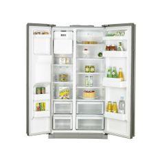 Our new fridge with ice maker. American Fridge Freezers, French Door Refrigerator, New Kitchen, Bathroom Medicine Cabinet, Kitchen Appliances, Samsung, House, Ice, Ebay