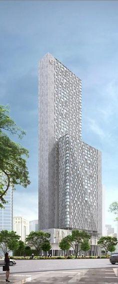 Hotel Equatorial Redevelopment, Kuala Lumpur, Malasya by GDP Architects :: 52 floors, height 260m
