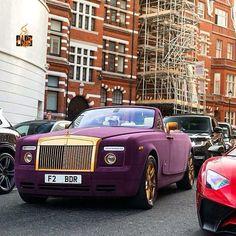 Purple Drank Syzurrup Colored Rolls Royce!