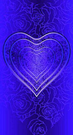 Heart Iphone Wallpaper, Bling Wallpaper, Luxury Wallpaper, Love Wallpaper, Wallpaper Ideas, Wallpaper Backgrounds, Blue Wallpapers, Phone Wallpapers, Pretty Pictures