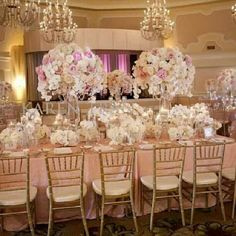 Emejing Champagne And Pink Wedding Ideas Styles 2018