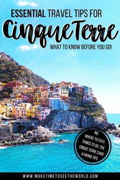 15+ Helpful Cinque Terre Tips to know before you go PLUS a sample 3 Day Cinque Terre Itinerary to help you plan your stay ** Cinque Terre Italy | Cinque Terre Things to do | Cinque Terre Where to stay | Cinque Terre Travel Guide | Cinque Terre Hiking Tips | Cinque Terre Italy Photography | Cinque Terre Things to See | Cinque Terre Italie | Cinque Terre Travel Tips | Italy Travel Inspiration | Beautiful Places in Cinque Terre | Ultimate Guide Cinque Terre | Visit Cinque Terer #Italy #EuropeTravel