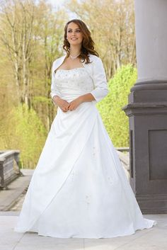 Ladybird ls35019 Plus size bridal wedding dresses and wedding gowns