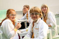 IdeenExpo 2013 in Hannover: Wie ein Profi ausgestattet Experimente machen? Das macht Spaß - und Lernen tut man auch noch nebenbei!