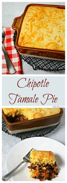 Best Turkey Tamale Pie Recipe on Pinterest