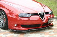 〔Cobalt〕アルファロメオ 156 GTA用 カーボンリップスポイラー 年式:02-06 - 欧州車・アウディ・アルファロメオ リップスポイラー&エアロパーツメーカー | Cobalt(コバルト)