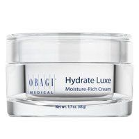 Obagi Hydrate Luxe  - Just as the name suggests, this luxuriously rich face cream is extra-moisturizing and contains ingredients to keep your skin looking and feeling supple and firm.