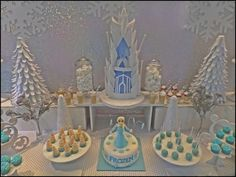 Disney Frozen Birthday Party Ideas | Photo 2 of 23 | Catch My Party