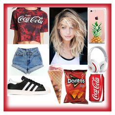 """""""bubsdorneles"""" by bubsdorneles on Polyvore featuring moda, Forever 21, adidas, Beats by Dr. Dre e The Casery"""
