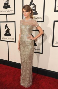 Grammy Awards 2014:Taylor Swift in Gucci
