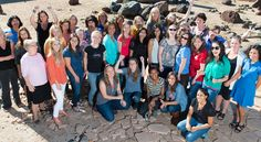 Some of the women working on NASA's Mars Science Laboratory Project, which built and operates the Curiosity Mars rover, gathered for this photo in the Mars Yard used for rover testing at NASA's Jet Propulsion Laboratory, Pasadena, California. Nasa Curiosity Rover, Curiosity Mars, Team Mission, Mission To Mars, Value Of Women, Mars Probe, Corporate Team Building Activities, Mars Science Laboratory, Team Motivation