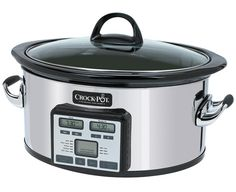 NEW! Crock-Pot®  Slow Cooker with Smart Cook™ Technology