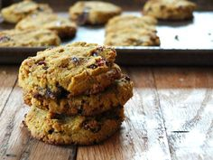 Paleo Pumpkin Chocolate Chip Cookies Recipe plus 49 other Paleo cookie recipes