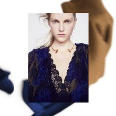 Focusing on #lace details and #knit #vanessabruno #prefall2016