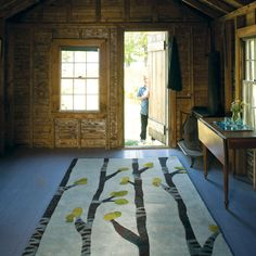 How amazing is this rug by Angela Adams?
