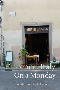 Because things are closed on Sunday's and Monday's! Girl In Florence | Where To Go In Florence On A Monday