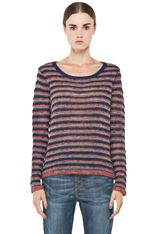 Rag & Bone Amy long sleeve pullover in navy