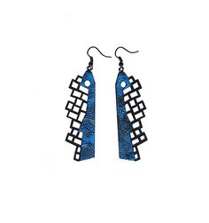 Earrings contemporary modern jewelry design FREE by DecoUno