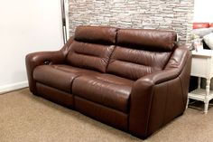 Halcyon (F-V famous store) Power Reclining 3 Seater Sofa Famous Store, Sofa Ideas, Power Recliners, 3 Seater Sofa, Couch, Furniture, Home Decor, Settee, Decoration Home