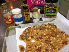 Easy Nut Brittle ~ Canning Homemade!