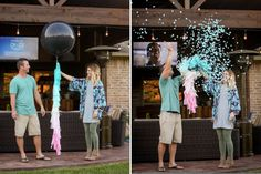 There are TONS of gender reveal ideas across the internet, but these have to be our faves! Here are 14 of the Best gender reveal ideas the Internet has to offer Baby Reveal Cakes, Gender Reveal Cupcakes, Gender Reveal Themes, Confetti Gender Reveal, Gender Reveal Photos, Gender Reveal Balloons, Gender Reveal Decorations, Baby Shower Gender Reveal, Baby Gender