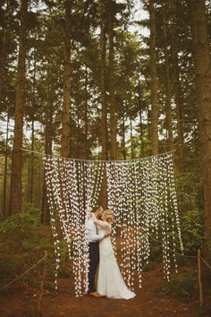 PapaKata Tent Wedding at Camp Katur Ed Peers Photography - DIY Paper Cone Curtain Campground Wedding, Camp Wedding, Forest Wedding, Woodland Wedding, Dream Wedding, Diy Wedding Tent, Diy Wedding Backdrop, Wedding Ideas, Paper Wedding Decorations