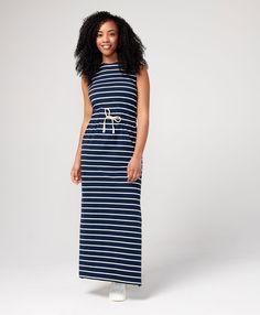629a475544c8 Women s Sleeveless Drawstring Dress made with Organic Cotton