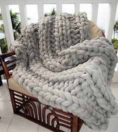 You'll love to make this chunky Cable Knit throw rug and the best part is it's a FREE Pattern.  It looks gorgeous and is so warm and comfy. We've also added a Knitted throw that you can knit with your arms. Check out the ideas now.
