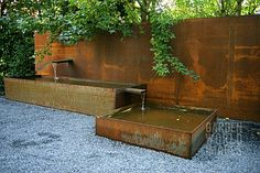 Image result for corten steel panel construction detail