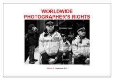 Worldwide photographer's rights