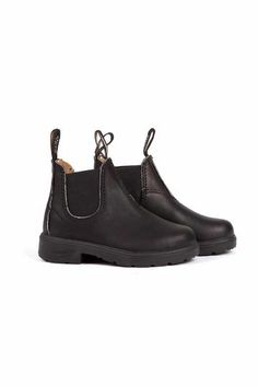 Shoes Blundstone 531 KID ELASTIC SIDE BOOT BLACK LEATHER - WP Store