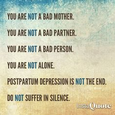 Image result for postnatal depression quotes