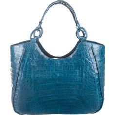 feaf73ec8764 Nancy Gonzalez Crocodile Shoulder Bag (54