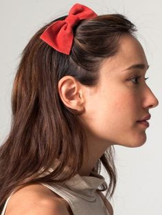 a cute red bow for my hair :)