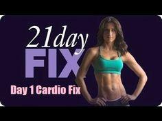 21 Day Fix Day 1- Cardio Fix- Workout - YouTube