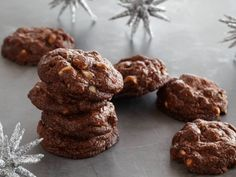 Triple Chocolate Cookies from FoodNetwork.com