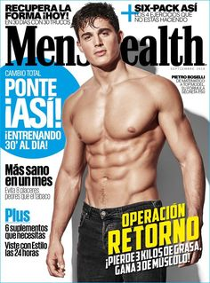 Cover - Best Cover Magazine  - Pietro Boselli covers the September 2016 issue of Men's Health España....   Best Cover Magazine :     – Picture :     – Description  Pietro Boselli covers the September 2016 issue of Men's Health España.  -Read More –