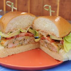 Shrimp Burgers with Old Bay Mayo By Katie Lee