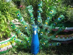 Resultado de imagen para ornamentacion botellas plastico
