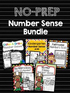 A collection of all of my number sense printables. This packet includes several print and go worksheets, cut and paste, and more that would be perfect for whole group, small group, last minute sub plans, and even homework. This product focuses on numbers sense to 20 and is fully connected to Common Core Standards.