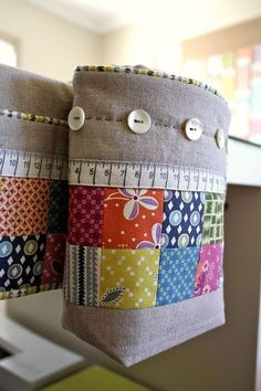 Pin cushion thread catcher free pattern and tutorial