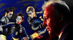 Art picture by Seizi.N もうすぐサッカーワールドカップ楽しみですね、ザックジャパンを応援歌とお絵描きしてます、最低でも一次リーグだけは突破してくれるよう祈ります。  本日音楽紹介はオールデーズの懐かしい曲です。 Louis Armstrong - You'll Never Walk Alone http://youtu.be/0cYt1fXdp5w