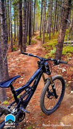 //Mountain Biking on Andesite at Big Sky Resort. Please follow us @ https://www.pinterest.com/wocycling/