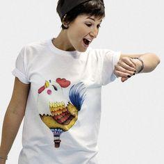 Coco balloon 100% cotton t-shirt