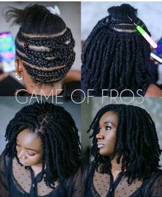 crotchet braids Crochet braids made a huge debut in 2015 and we're sure they are not going out of style anytime soon. Check out this list of chic Crochet Braids Hairstyles! Crochet Braids Hairstyles, African Braids Hairstyles, Girl Hairstyles, Braided Hairstyles, Braided Locs, Crochet Bob Braids, Crochet Kinky Twist, Hairstyles Videos, Braid Styles